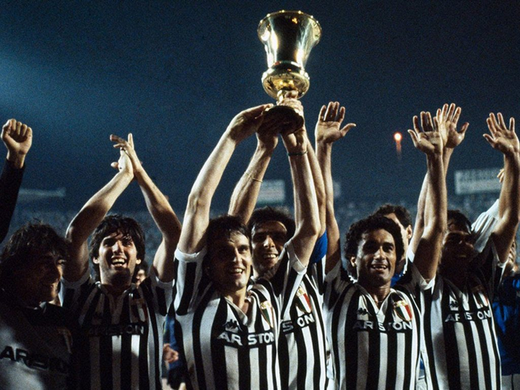 Juventus 1982/1983 Coppa Italia N.7