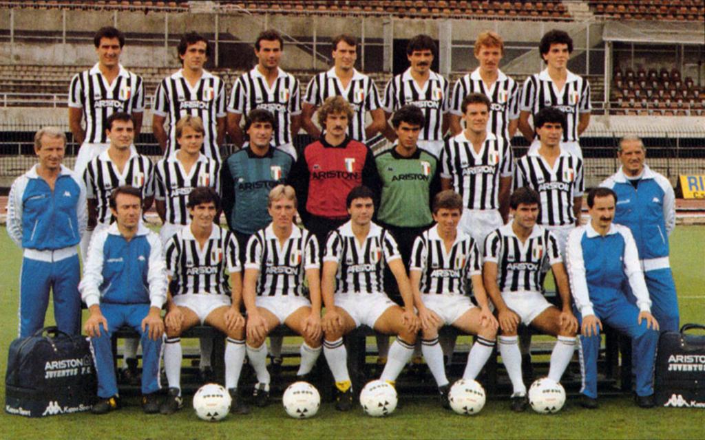 Juventus 1984/1985 Foto ufficiale